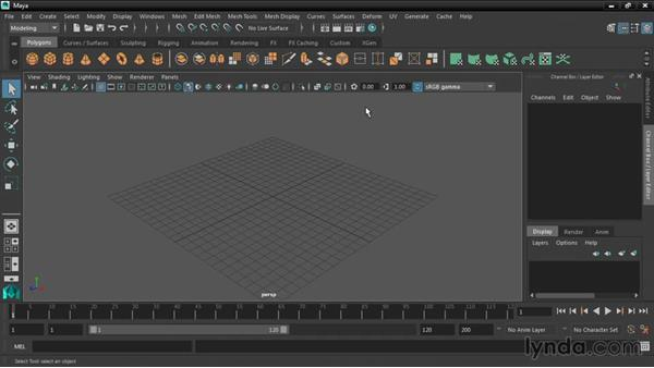 Using the exercise files: Maya 2016 New Features