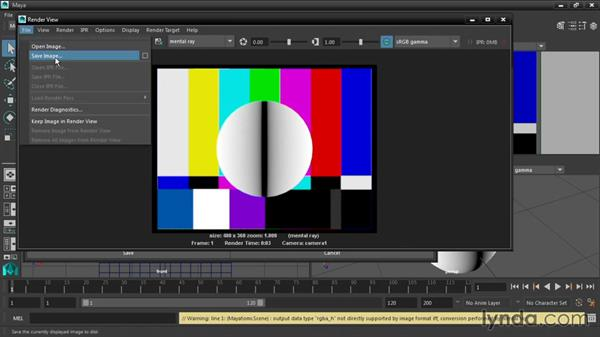 Rendering raw files: Maya 2016 New Features