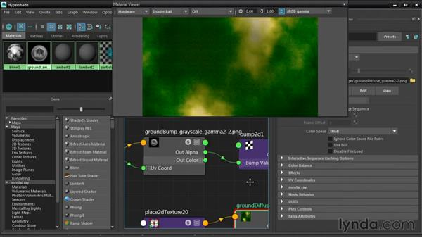Previewing shaders in the Material Viewer: Maya 2016 New Features