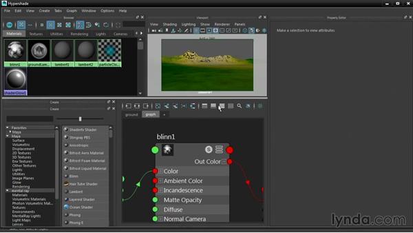 Customizing the Hypershade interface: Maya 2016 New Features