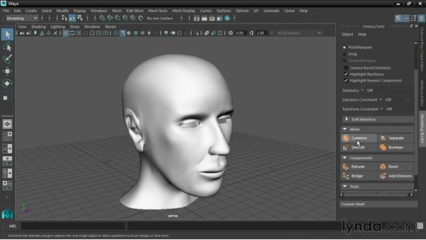 Integrating the Modeling Toolkit: Maya 2016 New Features