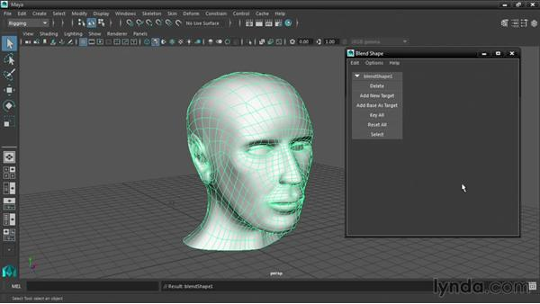 Creating single-mesh blend shapes: Maya 2016 New Features