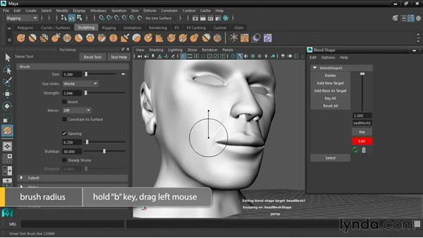 Exploring the new sculpting tools: Maya 2016 New Features