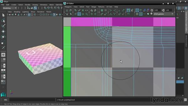 Editing UVs with the brush tools: Maya 2016 New Features