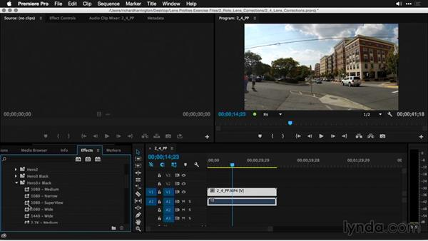Correcting lens distortion in Premiere Pro: Using and Creating Lens Profiles in Adobe CC Applications