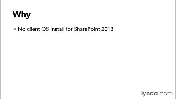 What we will be building and why: SharePoint 2013 Installing and Configuring a Test Environment