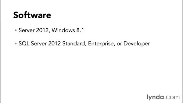 The software: SharePoint 2013 Installing and Configuring a Test Environment