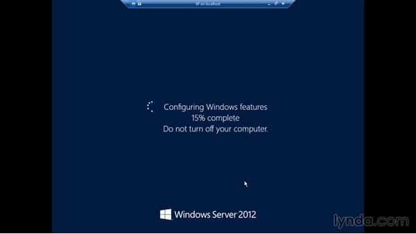Installing SharePoint 2013 prerequisites: SharePoint 2013 Installing and Configuring a Test Environment
