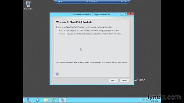 Installing SharePoint 2013: SharePoint 2013 Installing and Configuring a Test Environment