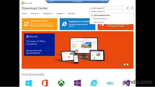 Preparing the workflow farm: SharePoint 2013 Installing and Configuring a Test Environment