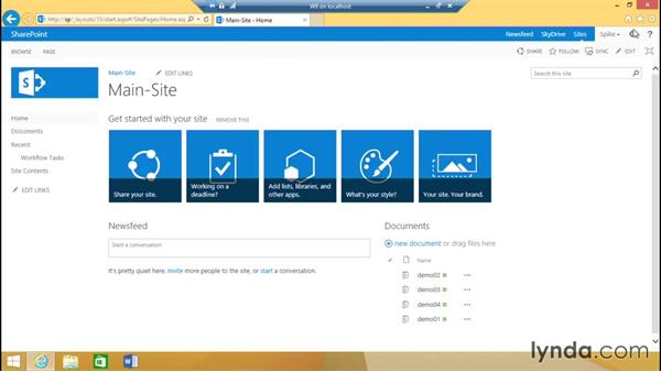 Configure the test account: SharePoint 2013 Installing and Configuring a Test Environment