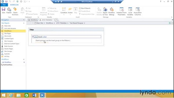 Create a simple SharePoint 2010 workflow: SharePoint 2013 Installing and Configuring a Test Environment