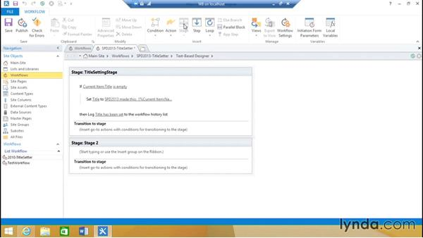 Create a simple SharePoint 2013 workflow: SharePoint 2013 Installing and Configuring a Test Environment