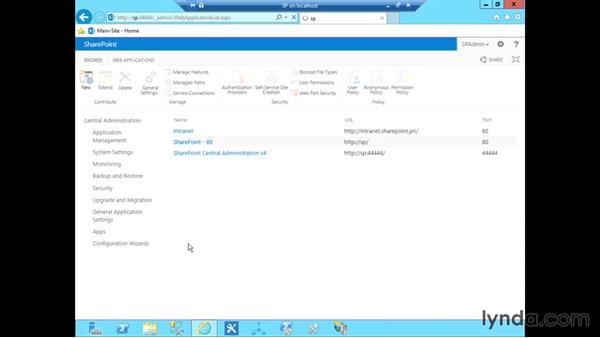 Configuring My Sites: SharePoint 2013 Installing and Configuring a Test Environment
