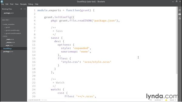 Running Grunt and Sass for the first time: WordPress: Developing with Sass and Grunt.js