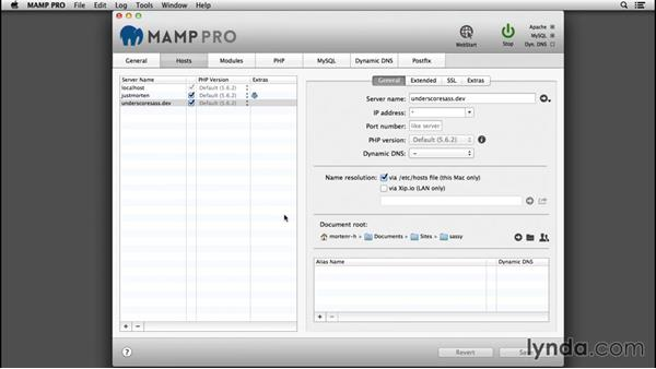 Preparatory setup: WordPress: Developing with Sass and Grunt.js