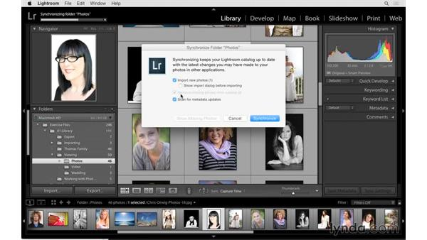 Deleting or removing photographs: Lightroom 6 Essential Training