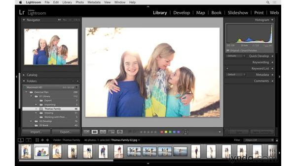 Working with flags, stars, and labels: Lightroom 6 Essential Training
