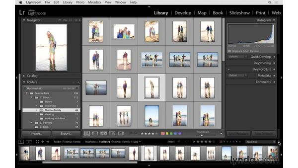 Filtering and finding your photographs: Lightroom 6 Essential Training