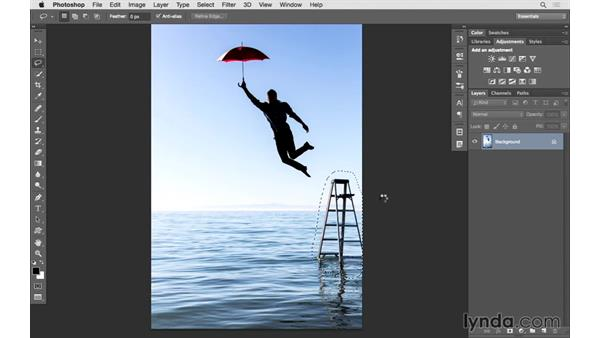 Editing a JPEG photo in Photoshop: Lightroom 6 Essential Training