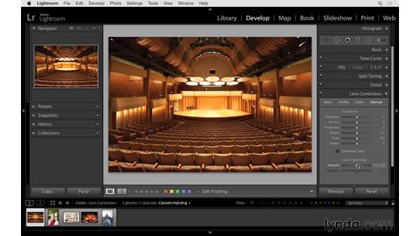 Removing distortion: Lightroom 6 Essential Training