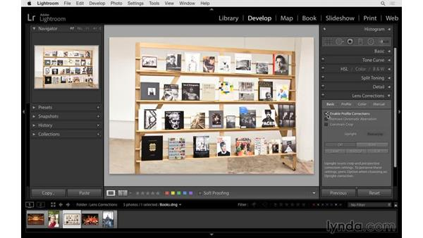 Making dramatic perspective improvements: Lightroom 6 Essential Training