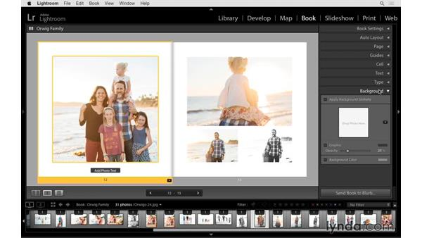 Adding type or graphics: Lightroom 6 Essential Training