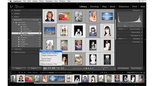 What is a collection?: Lightroom CC Essential Training (2015)