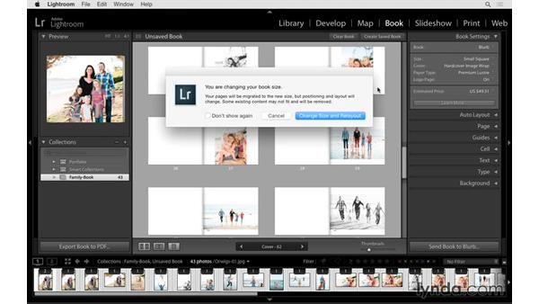 Creating collections for your book project: Lightroom CC Essential Training (2015)