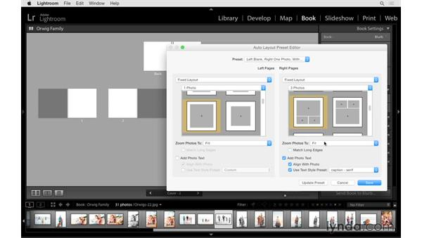 Using auto layout and viewing tips: Lightroom CC Essential Training (2015)