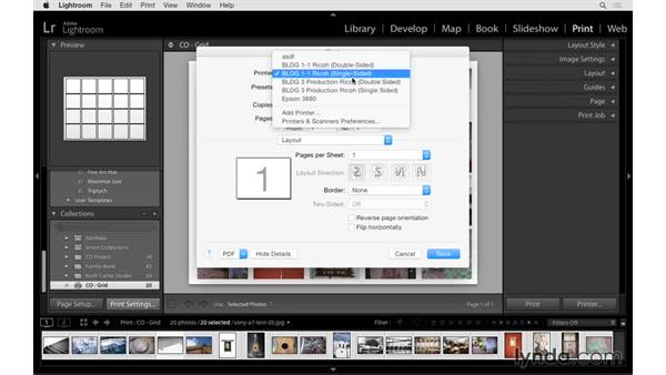 Making print collections: Lightroom CC Essential Training (2015)