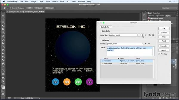 Welcome: Photoshop Variables: Game Production Art