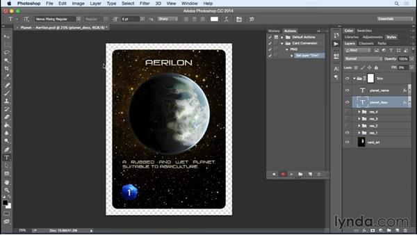 Working with your output files: Photoshop Variables: Game Production Art