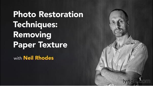 Next steps: Photo Restoration Techniques: Removing Paper Texture