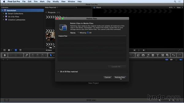 Using the exercise files: Final Cut Pro X 10.2 Essential Training