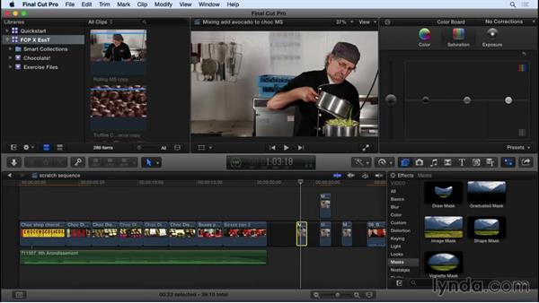 What's new in FCP X 10.2: Final Cut Pro X 10.2 Essential Training
