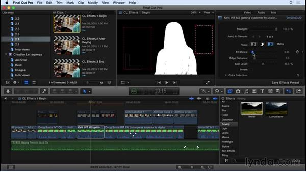 Working with effects: Final Cut Pro X 10.2 Essential Training
