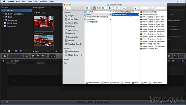 Managing libraries, events, and clips: Final Cut Pro X 10.2 Essential Training