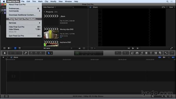 Next steps: Final Cut Pro X 10.2 Essential Training