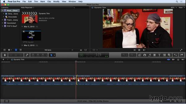 Dynamic trimming in FCP X: Video Post Tips Weekly