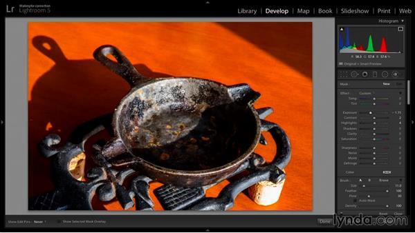 Post work on the small still life image: Exploring Photography: Exposure and Dynamic Range