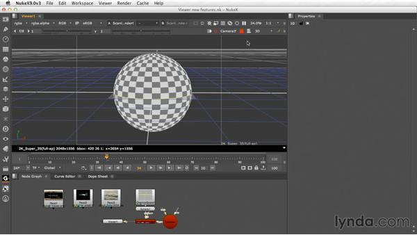 3D Viewer changes: Nuke Essential Training