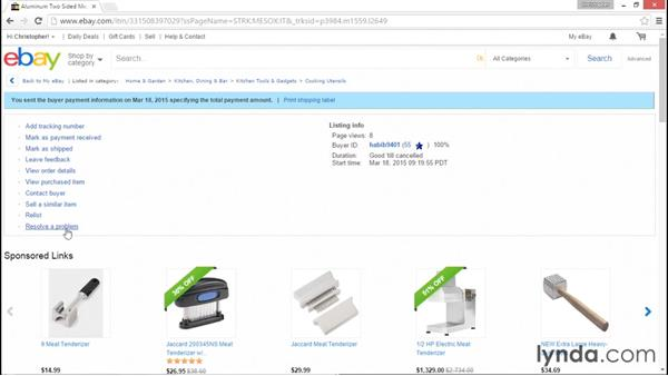 What to accomplish after the sale: eBay for Sellers Essential Training