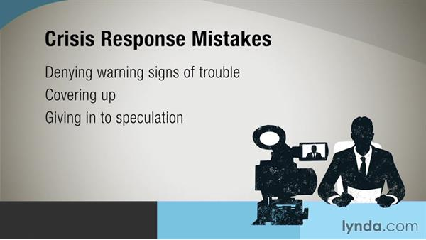 Avoiding common crisis response mistakes: Crisis Communication