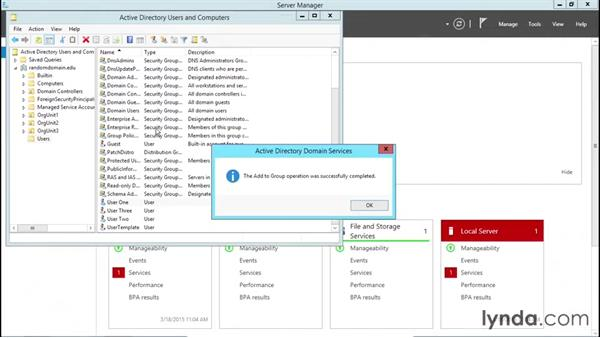 Welcome: Installing, Configuring, and Administering Active Directory