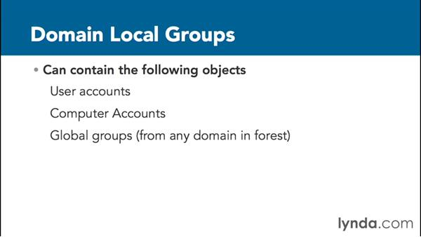 Working with groups: Installing, Configuring, and Administering Active Directory