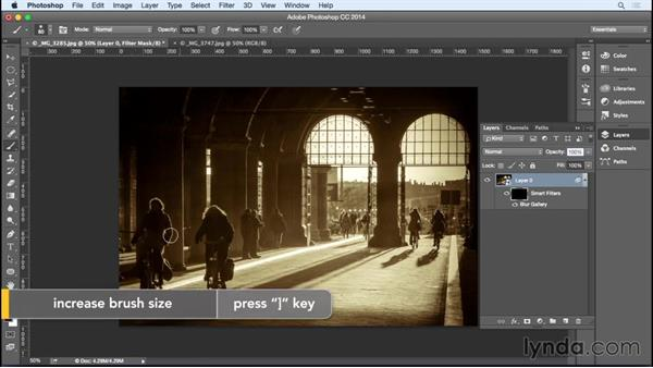 Using the Path Blur filter: Photoshop for Designers: Filters