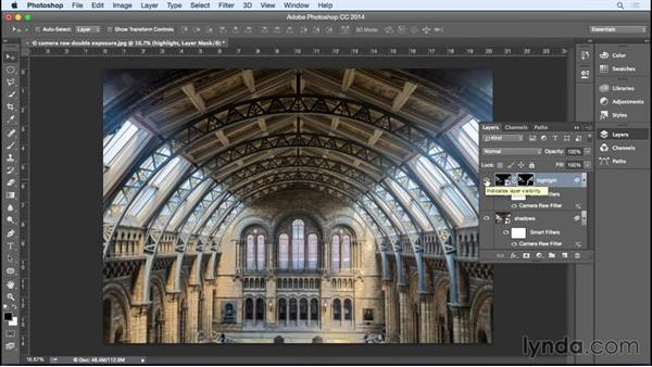 Creating an HDR-like effect using the Camera Raw filter: Photoshop for Designers: Filters