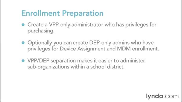 Getting prepared for enrollment in Apple deployment programs: iPads in Education: Deploying 1:1 iPads