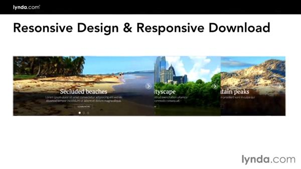 Introduction to this course: Creating a Responsive Homepage Marquee